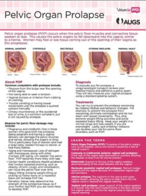 Prolapse of uterus treatment