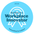 2019 Healthcare Workplace Innovator Award Ribbon